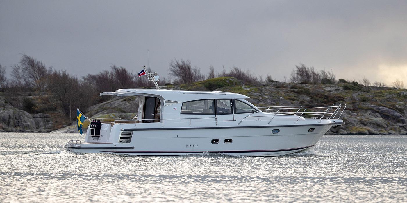 Bild på båtmodellen Nimbus 405 Coupé