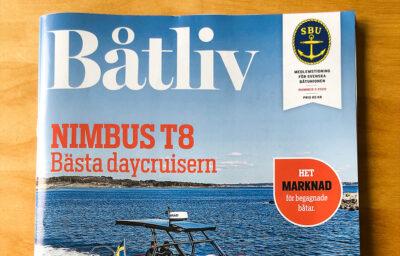 Framsidan på magasinet Båtliv
